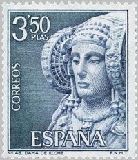 Vuelos a Alicante. La Dama de Elche.