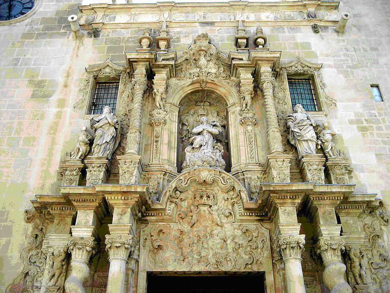 La Basílica de Santa María, Alicante