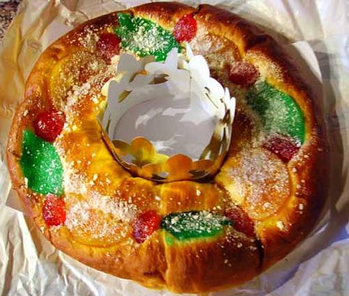 Y para finalizar las fiestas navideñas el Roscón de Reyes.