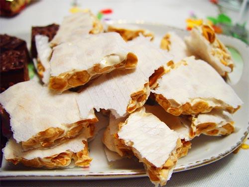 El Turrón de Alicante uno de los preferidos en la gastronomía navideña Española.