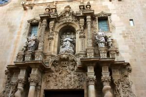 Lugares de interés en Alicante: Concatedral de San Nicolás de Bari.