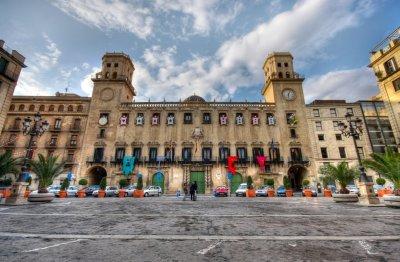 Lugares de interés en Alicante: Ayuntamiento de Alicante.