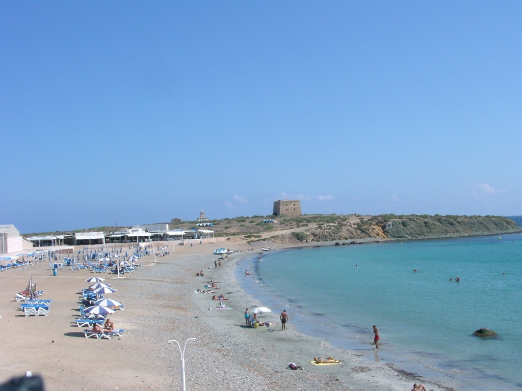 Isla de Tabarca:Playa