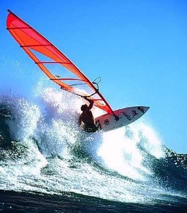 Windsurf en Alicante.